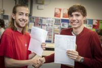 CNS students celebrate top A Level results