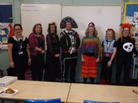 MFL students celebrate Day of the Dead