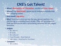 CNS's Got Talent